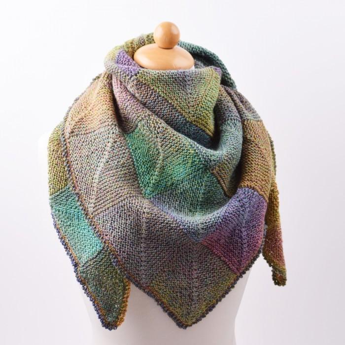 sjal strikket