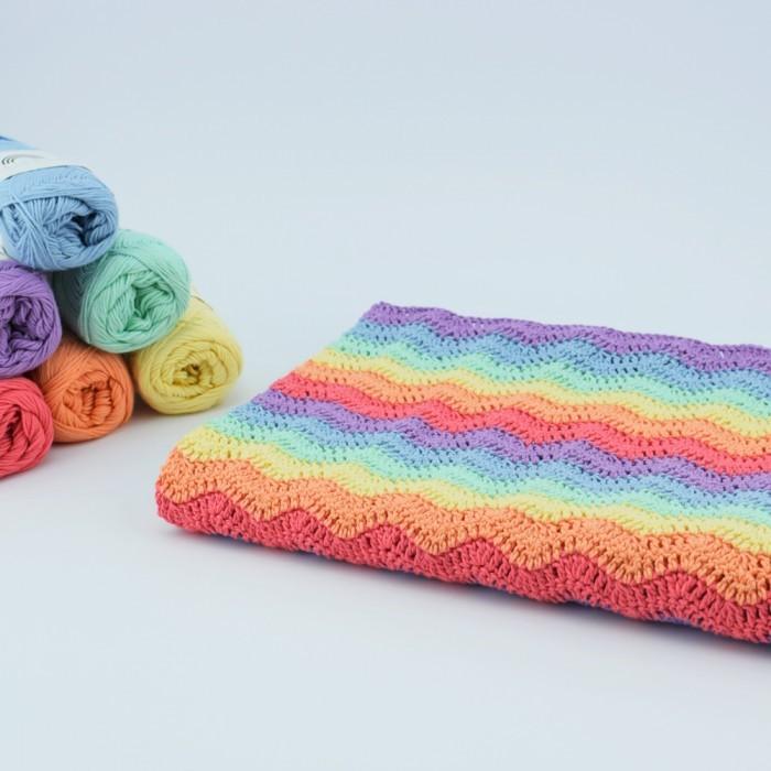 Rainbow Babykleedje Patronen Hobbii Hobbiinl