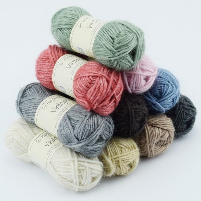 Vintage acier aiguilles à tricoter pour chaussettes