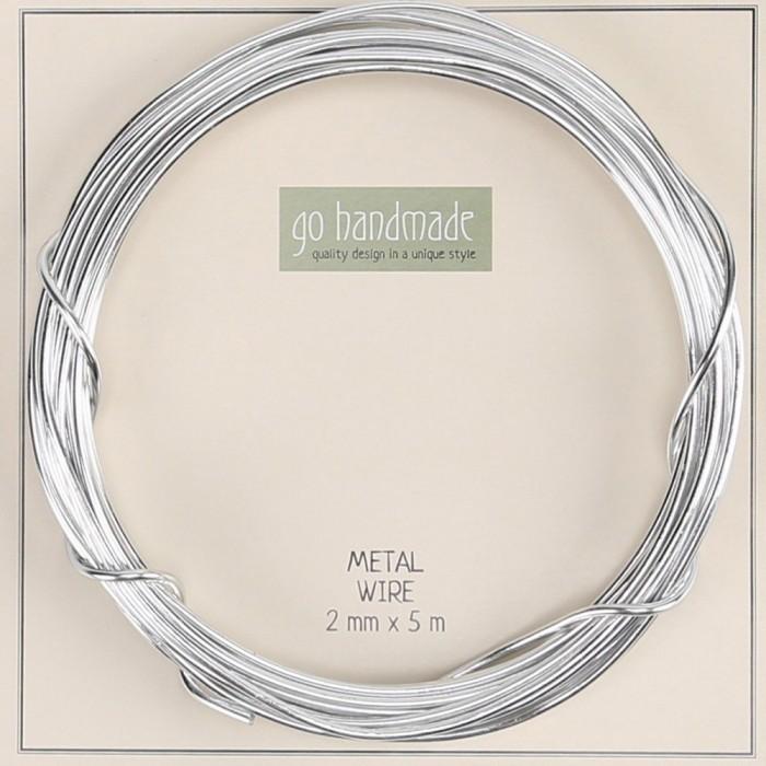 5 m Metalldraht - Stärke 2 mm | Go Handmade | Go Handmade - Hobbii.de