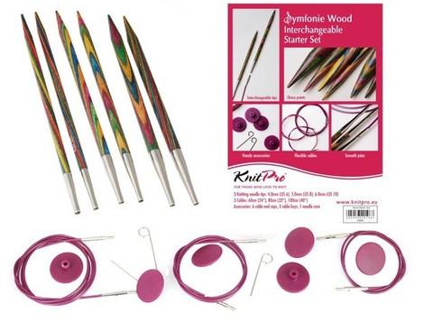 KnitPro TRENDZ Starter Interchangeable Circular Knitting Needle Set