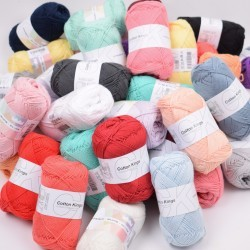Lykkepose 500g - Cotton 8/4 Garn Cotton Kings