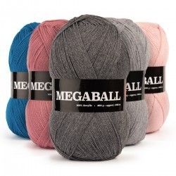 MegaBall 400 Gramm Garn & Wolle We Love Yarn
