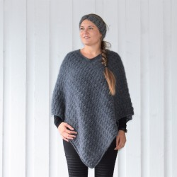 Winter Shells Poncho Patronen
