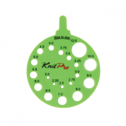 Knitting Gauge - Round - Green Accessories KnitPro