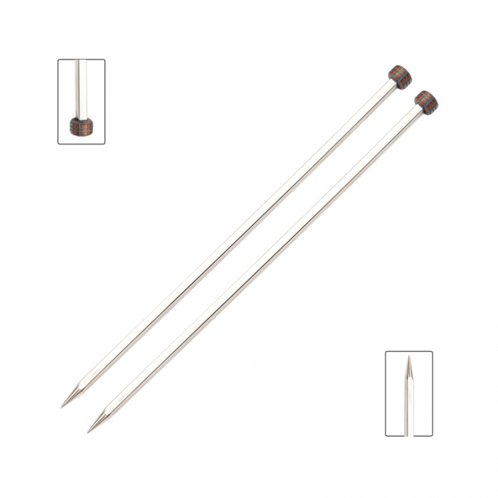 Nova Cubics Straight/ Single Point Needles Knitting Needles KnitPro