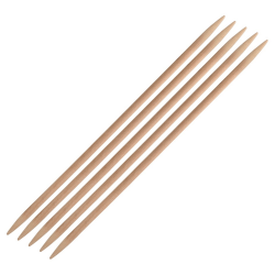 Basix Birch DPNs  Knitting Needles KnitPro