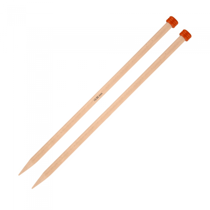 Basix Birch straight/single point Needles  Knitting Needles KnitPro