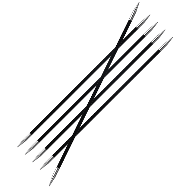 Karbonz DPNs Knitting Needles KnitPro