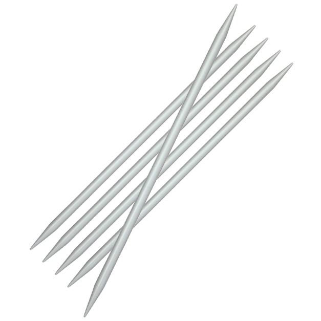 Basix Aluminium DPNs  Knitting Needles KnitPro