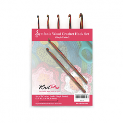 Symfonie Crochet Hook Set - Single Crochet Hooks KnitPro