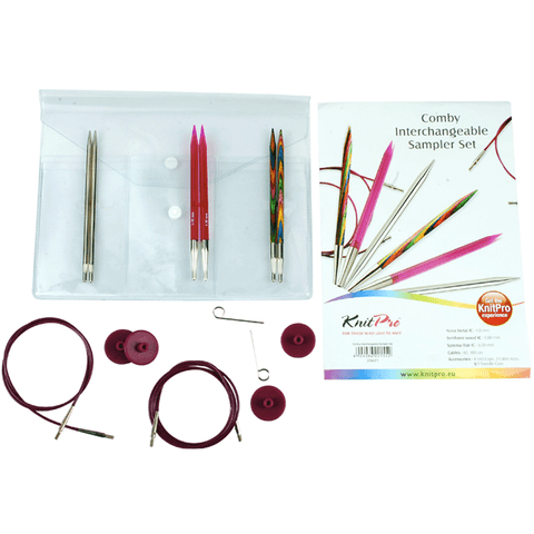 Comby Interchangeable Circular Needles Set I - 4-6 mm Knitting Needles KnitPro