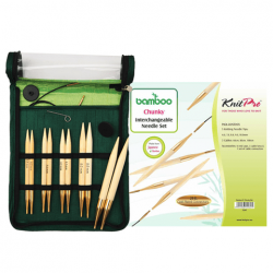 Bamboo Interchangeable Circular Needle Set - Thick Needles  Knitting Needles KnitPro