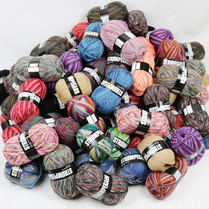 Sock Yarn Goodiebag - 10 Balls  Yarn