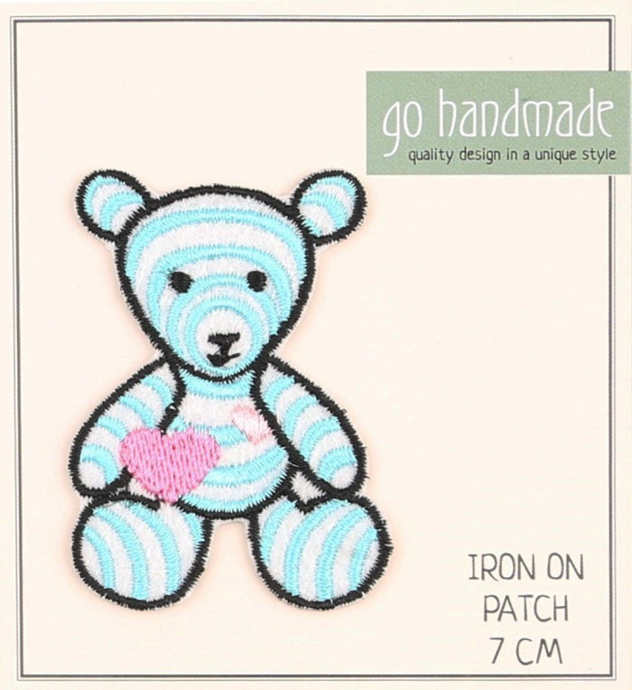 Ironing Label - Camilla The Teddy  Accessories Go Handmade