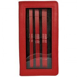 Red - DPN Set Knitting Needles Järbo