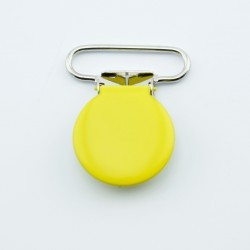 Belt Clip - Round - Yellow Accessories