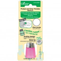 Thimble - 15.5 mm - Pink Accessories Clover