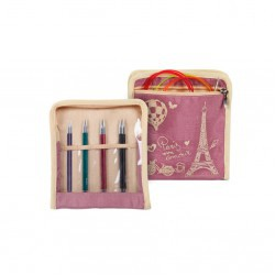 Royalé - Midi - Interchangeable Circular Needle Set - 4 Sizes  Knitting Needles KnitPro