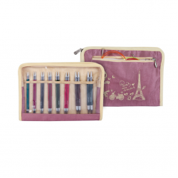 Royalé - Interchangeable Circular Needle Set Deluxe - 8 Sizes  Knitting Needles KnitPro