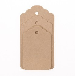 Manila Gift Tags - Natural Accessories Go Handmade