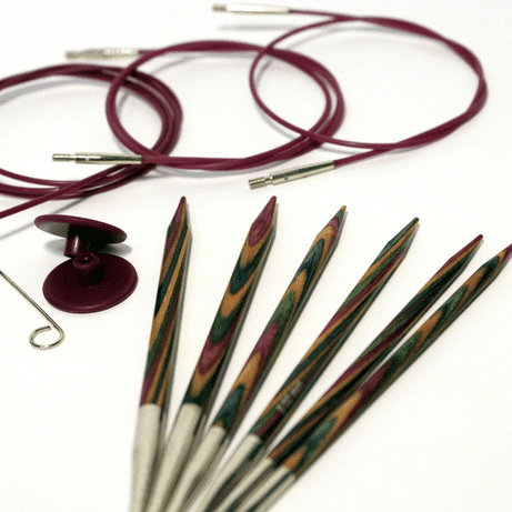 Symfonie Interchangeable Circular Needles in Birch Knitting Needles KnitPro