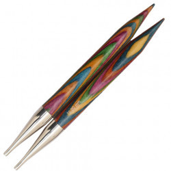 Symfonie Short Interchangeable Circular Needles in Birch Knitting Needles KnitPro