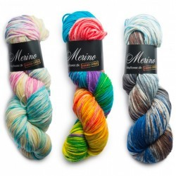 Merino Magic (Håndfarvet) Garn Mayflower