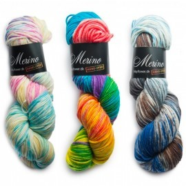 Merino Magic (Håndfarget)  Garn Mayflower