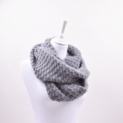 Crocheted Double Snood - Merino Patterns Hobbii