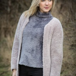 D 35 - Lange Pelzjacke aus Mayflower Fake Fur Anleitungen Mayflower