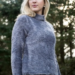 D 38 - Damenpullover aus Mayflower Fake Fur Anleitungen