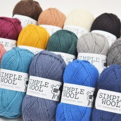 Simple Wool Garn & Wolle Happy Sheep