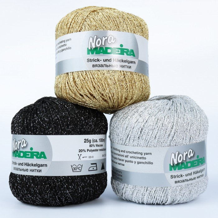 Nora Madeira Effect Yarn Novelty Yarns Madeira