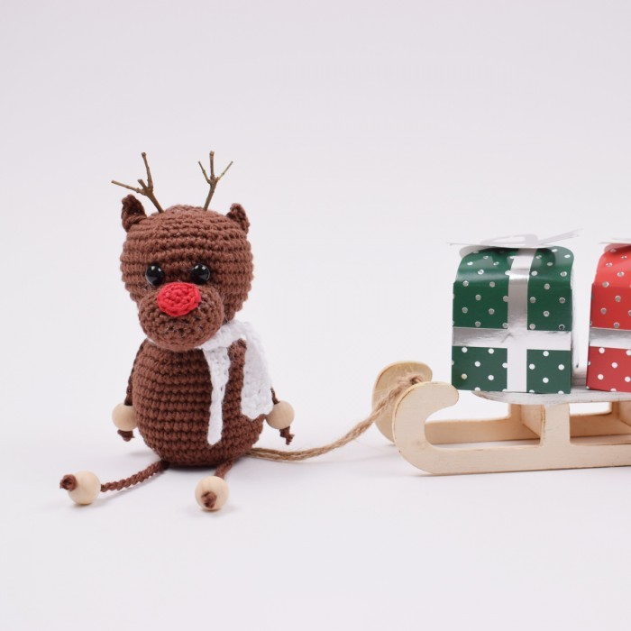 Crocheted Rudolph Patterns Hobbii