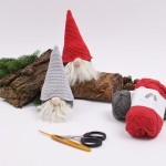 Shy christmas gnomes Patterns Hobbii
