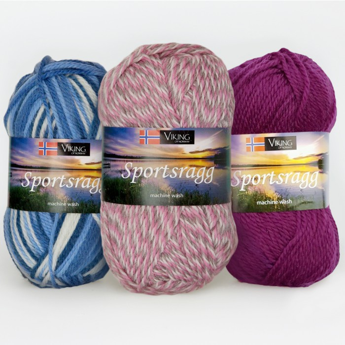 Sportsragg Stocking Yarn Yarn Viking of Norway