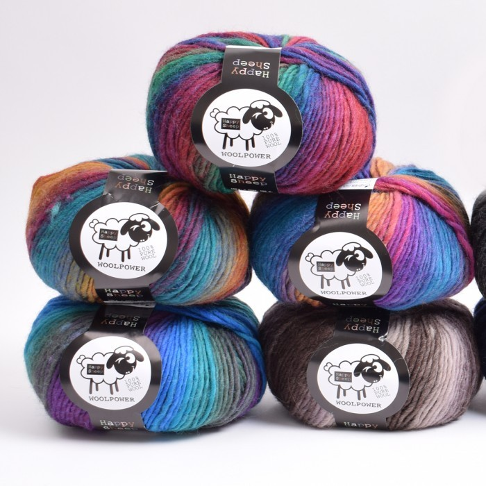 Woolpower Print Yarn Happy Sheep