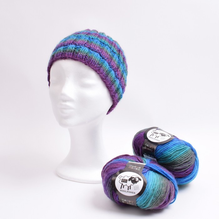 Knitted hat and cowl Patterns Hobbii