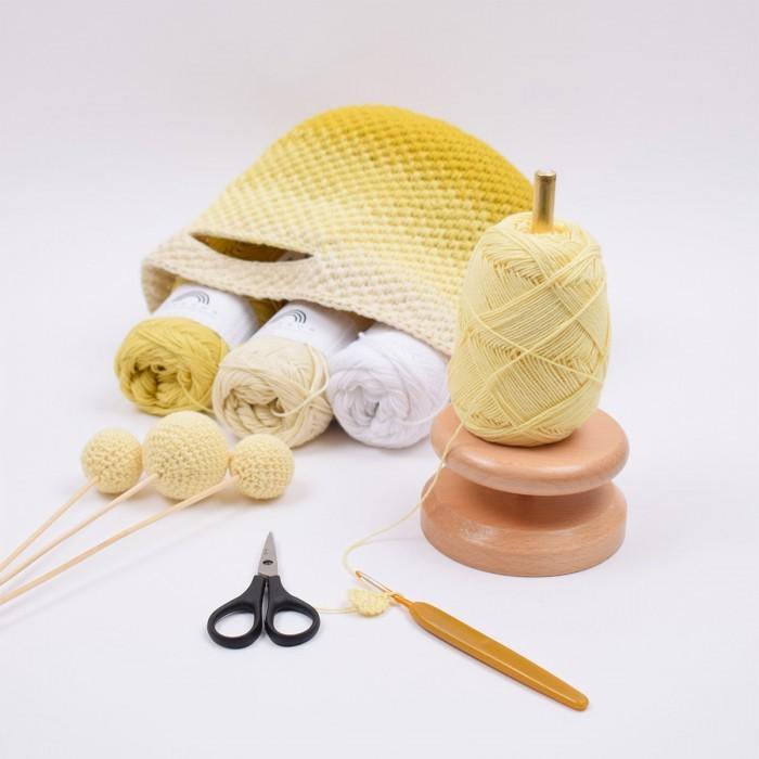 Wooden Yarn Holder Accessories Hobbiicom