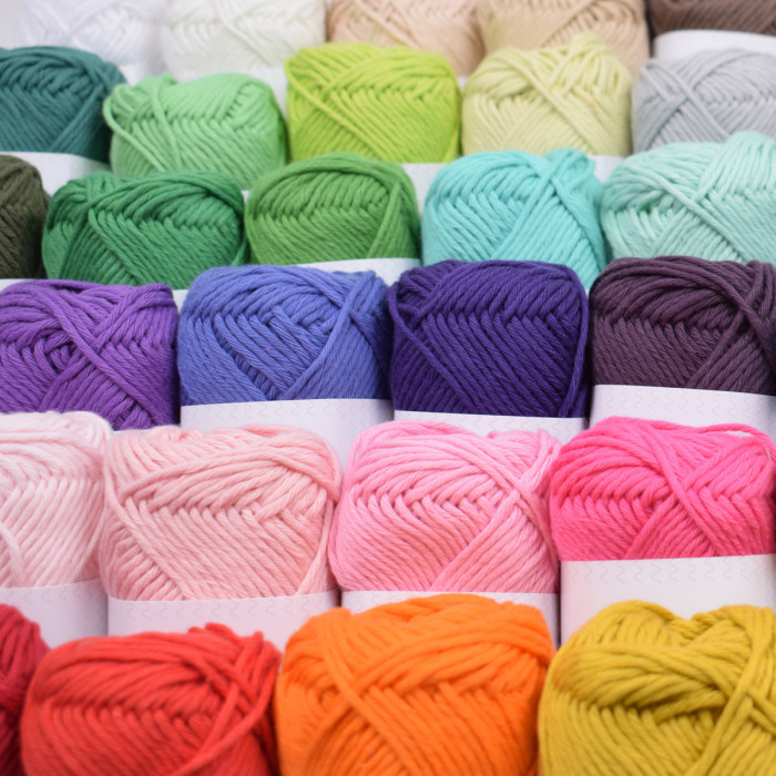 Rainbow Cotton 8/8 Yarn Hobbii