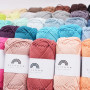 Rainbow Cotton 8/8 Garn Hobbii