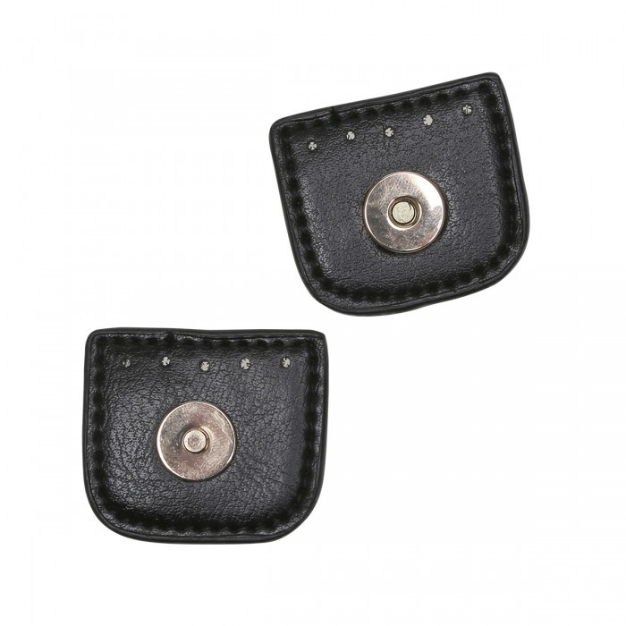 Magnetic button w. Flap – 4 cm Accessories Go Handmade