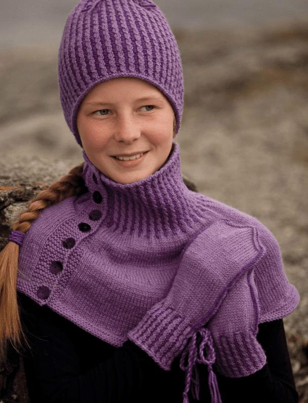 7be4b51c 1107-10 - Lue, votter og hals | Oppskrifter | Viking - Hobbii.no