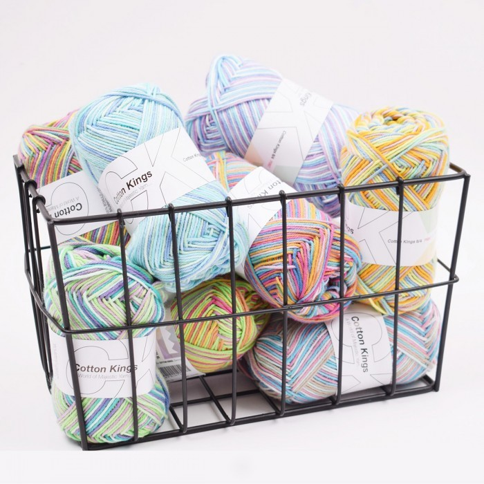 WonderBag - Cotton 8/4 Print (Color 1-10) Yarn Cotton Kings