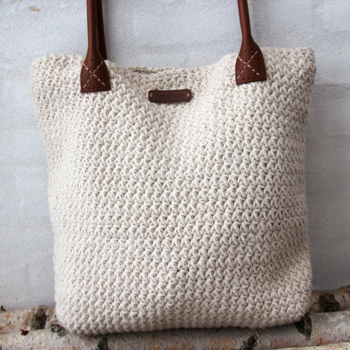 Star Stitch väska - Stor Mönster Go Handmade 5624911f08919