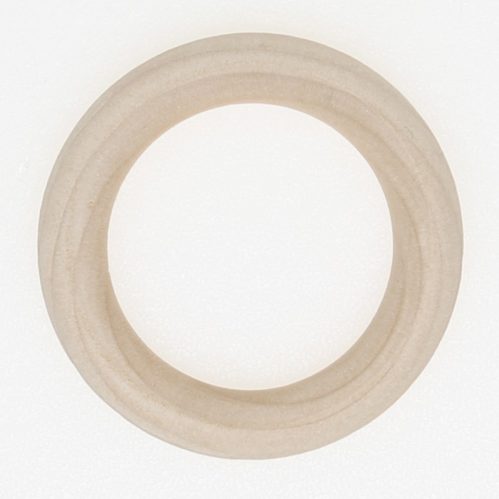 Wooden rings 7 pcs - 45 mm (EN71-3 certified) Accessories Go Handmade