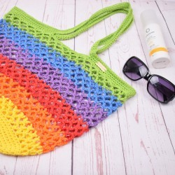 Beach bag - Rainbow Patterns