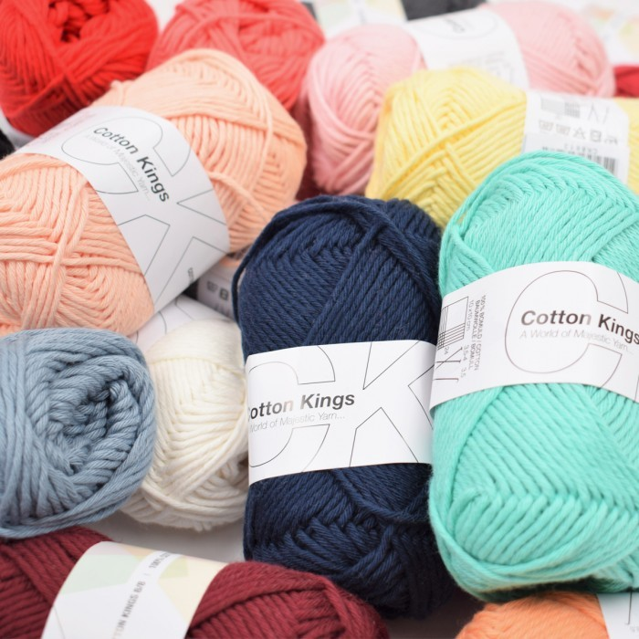 Lykkepose 500g - Cotton 8/8 Garn Cotton Kings