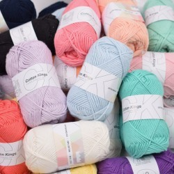 Wundertüte 500g - Cotton 8/8 Garn & Wolle Cotton Kings